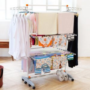 clothes rack indoor