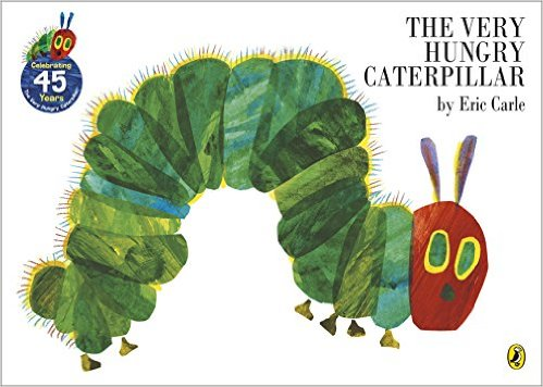 hungry caterpillar by eric carle