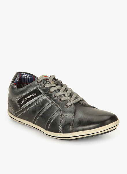 lee cooper grey shoes