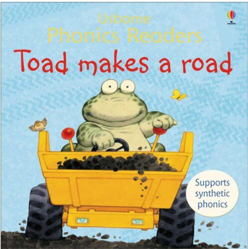 Toadmakes a road