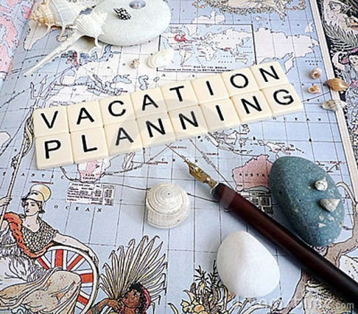 planning a vacation or holiday