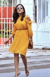 femella yellow dress