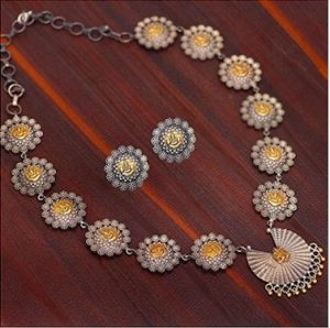 jaipur maat necklace set