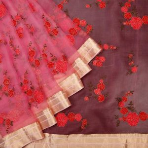 jharonka traditional saree
