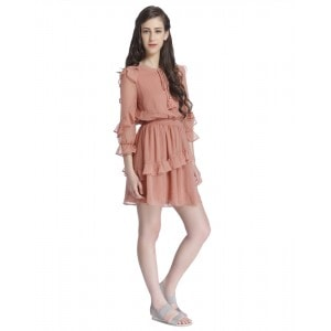 only ruffle dress
