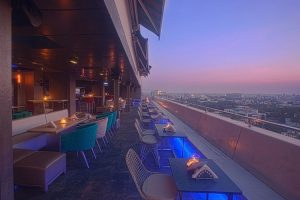 The 13th floor, Barton Centre, Bangalore - Rooftop Restaurant