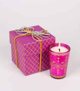 Moroccan Glass Pink