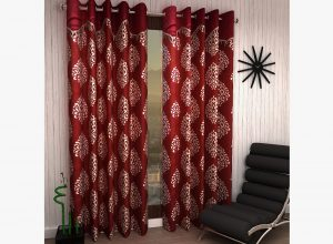 Supremo Set Of 2 Frill Curtains
