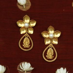 Suhani Pitte Ganesh Drop Earrings