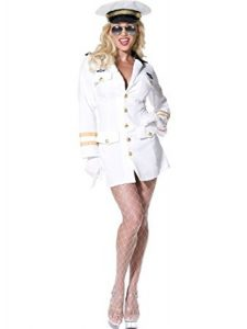 Sexy Captain Lady - Halloween Costume for Women