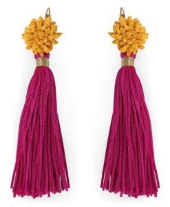 Silk Mogra Earrings