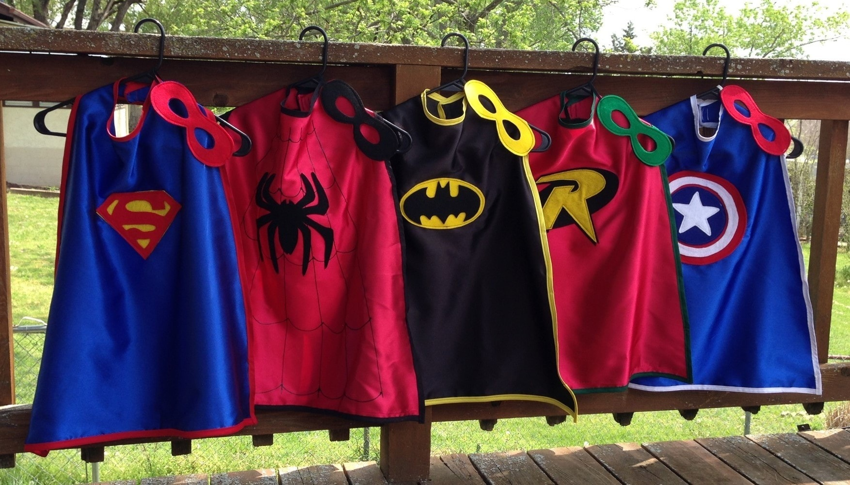 Fancy Superhero costumes for kids