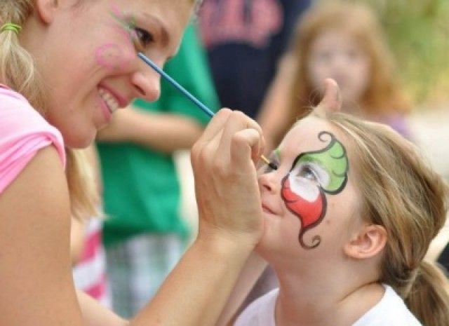 Painting a Child's Face Activity