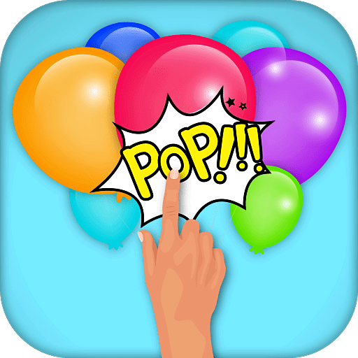 Pop the ballon game for kids