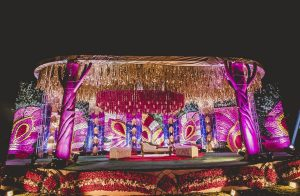 Stage designed by Theme Weavers Design