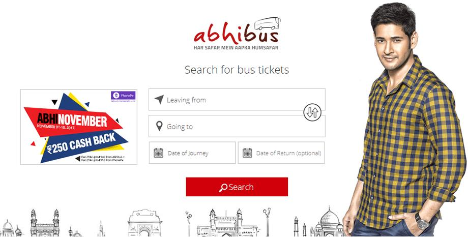 Abhibus - Online bus tickets booking website & App