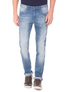 Flying Machine Mid-rise Skinny Fit Jeans - Men