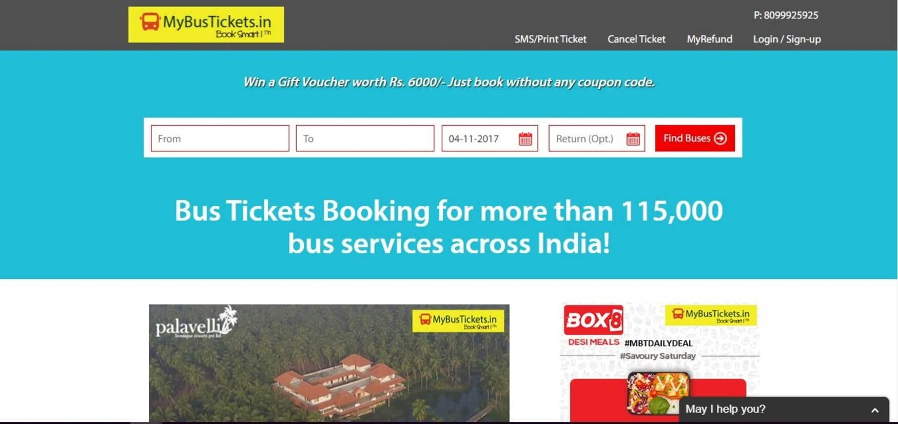 MYBusTicket - Bus booking