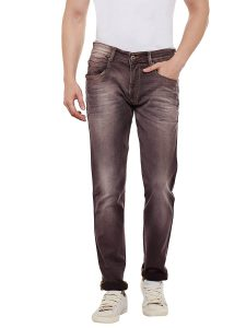 Numero Uno Mens Slim Fit Mid Rise Jeans (Roger Fit)