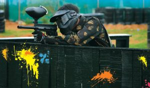 Paintball - play a game