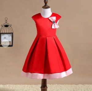 Red Frock (for Girls)