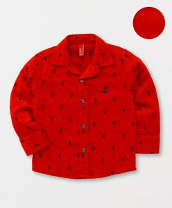 Red Toddler shirt (for boys)