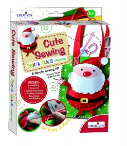 Santa Handbag sewing kit
