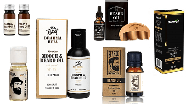 Best Beard Oil 2019 10 Best Beard Growth Oils in India (2019)   Beard Grooming Oils