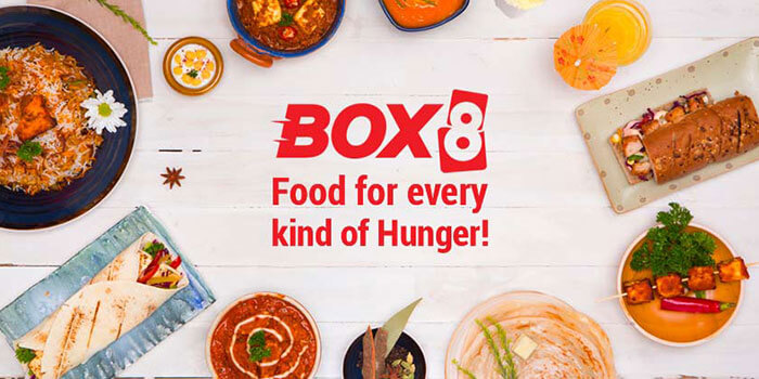 Box8 Indian food delivery website
