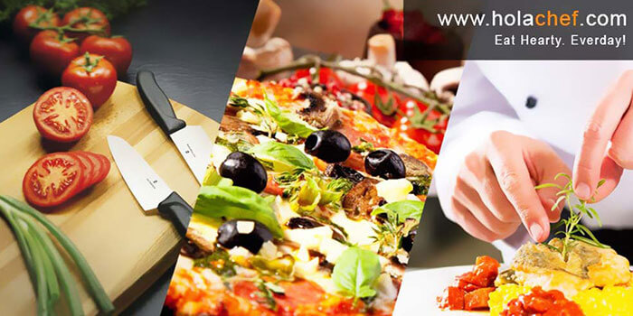 Hola Chef order food online