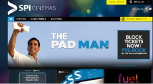 SPI Cinemas online movie tickets booking website
