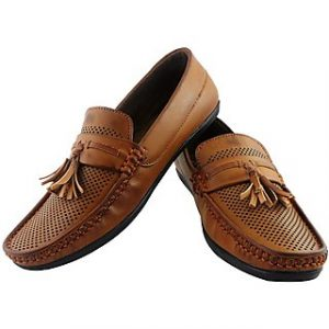 Elvace Tan Loafers