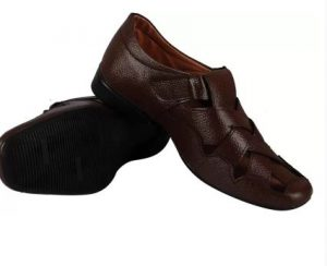 Fausto Mens Brown Sandals