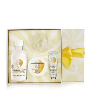 Almond Gift set from Body Shop