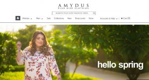 Amydus Website online garments