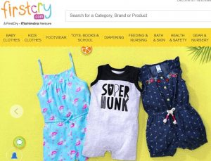 First Cry online shopping for kids