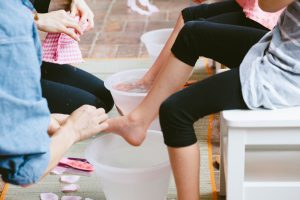 Foot Spa Station