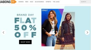 Jabong Website Cover