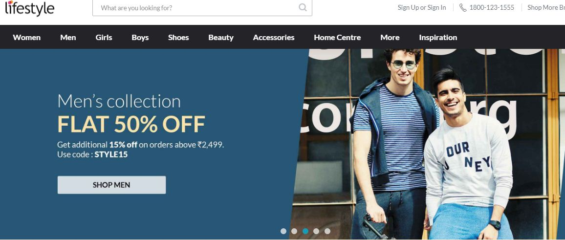 Lifestyle Website Indian clothes to Western wear for man