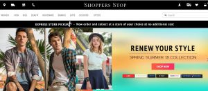 Shoppers Stop Website online paradise for women