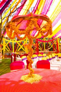 Holi - Traditional decor