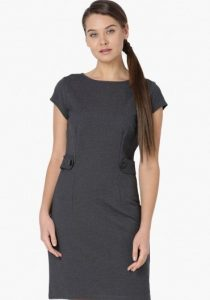 VERO MODA Solid Button formal dressing in office