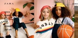 Zara Website online shopping for kids