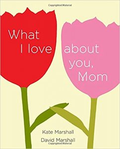 What I love about you mom book