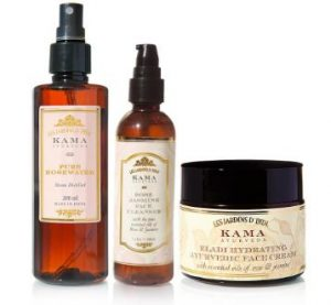 Kama Ayurveda Daily face care regime kit
