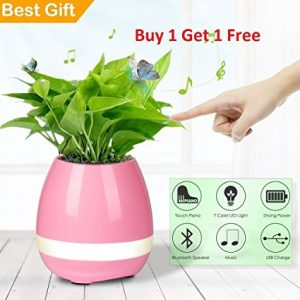 Amazon - PETRICE Flowerpot Rechargeable Wireless Bluetooth