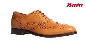 Bata Classic brown formal shoes