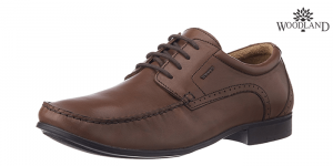 Woodland - Woods Brown Leather Formal-Shoes