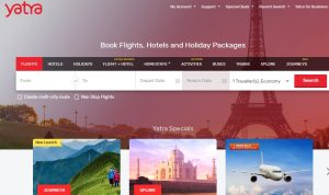 Yatra Travel Booking Site
