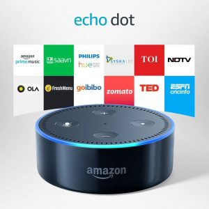 Amazon - Echo-Dot-Voice-control